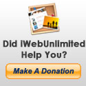 Donate to iWebUnlimited.com